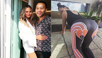 Chrissy Teigen Gets Sweatpants With Hubby John Legend's Pic In Hearts; Shows Off Her Sexy Butt In Style