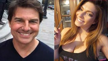 Is It Really Tom Cruise With Former WWE Star Shelly Martinez?  Bombshell Wears Super Revealing Outfit As She Sits In The Man's Lap
