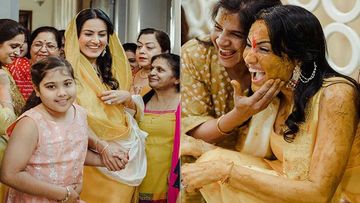 Ex-Bigg Boss Contestant Kamya Panjabi's Haldi Ceremony: The Bride-To- Be Glows In Auspicious Yellow