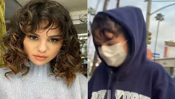 Selena Gomez Breaks The Self Isolation Rule And Heads Out For Some Chipotle With Friends In Los Angeles-VIDEO