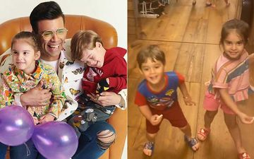 Karan Johar Gets Tagged As 'Talentless' By His Kids Yash And Roohi; Filmmaker Says 'Ok I Have Had Enough' - WATCH