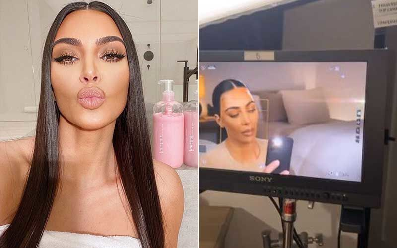 KUWTK: Kim Kardashian Films Confessionals All By Herself; Works From Home Amidst The Coronavirus Lockdown-WATCH