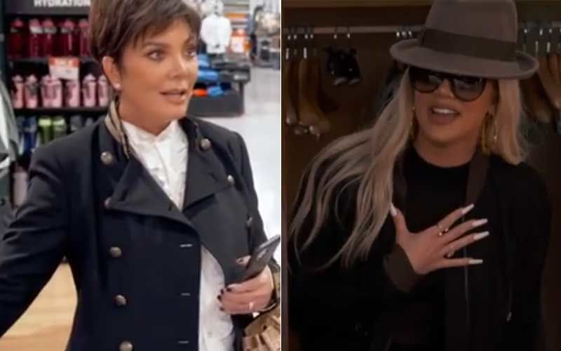 KUWTK: Khloe Kardashian Catches Mom Kris Jenner And Her Boyfriend Red-Handed In An Awkward Position - Shocking VIDEO