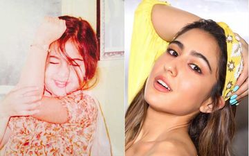 Sara Ali Khan Was A Born Star As She Shares Her Then And Now Pic Once Again- VIEW PIC