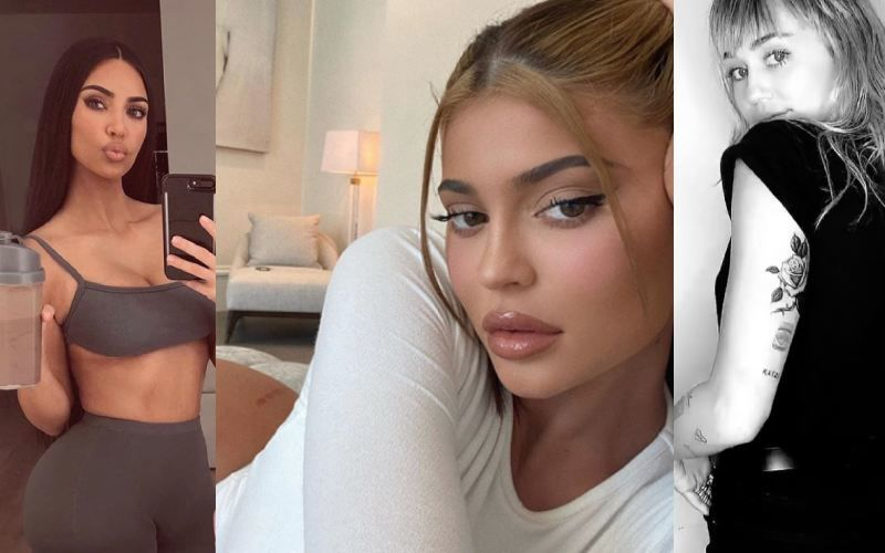 Do You Know What A Belfie Is Or A Butt Selfie? Check Out Kim Kardashian, Kylie Jenner And Miley Cyrus' Pictures To Learn The Trick
