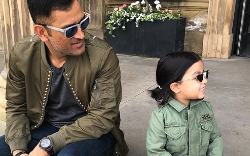 MS Dhoni's Daughter Ziva Is A Bike Enthusiast Just Like Her Daddy; Goes Vroom Vroom In Latest Video - WATCH