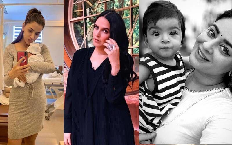 Mother's Day 2020: Mahhi Vij, Neha Dhupia To Smriti Khanna; Moms Who Fought Fat-Shaming Post Pregnancy Like True Boss