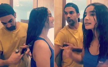 After Anushka Sharma, Rajkummar Rao Turns The Tables As He Gives GF Patralekhaa A New Haircut-WATCH