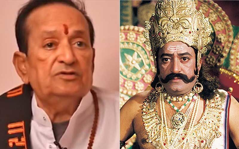 Ramayan's 'Ravan' Arvind Trivedi Passes Away At 82; His Co-stars Sunil Lahri, Dipika Chikhlia And Others Mourn His Demise