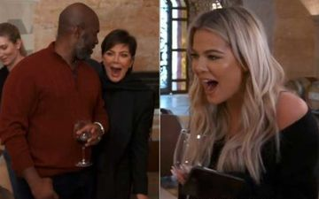 KUWTK Promo: Khloe Kardashian Makes Kris Jenner Talk Gibberish; Momager Scares The Sh*t Out Of Boyfriend By Going 'WooHaHaHaHa'-WATCH