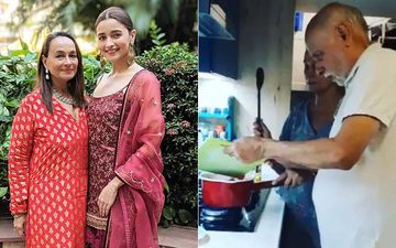 Soni Razdan Shares Family Cooking Classes Video; Alia Bhatt Has An 'OMG' Reaction As Mom Forbids Her From Posting It On TikTok