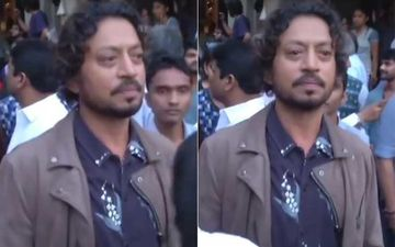 Irrfan Khan Death: This Video Of Irrfan Sobbing While Bidding Final Goodbye To Om Puri's Mortal Remains Will Leave You Misty Eyed