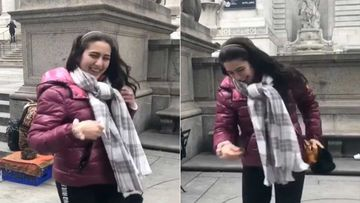 Sara Ali Khan Wishes Fans On World Health Day Sharing A TB Video Of Her Jumping Around In New York; Says Happy Is Healthy