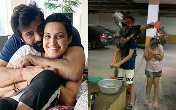 Kamya Panjabi SLAMMED For Wasting Water In A Video With Hubby Shalabh Dang And Kids; She Hits Back At The Detractors