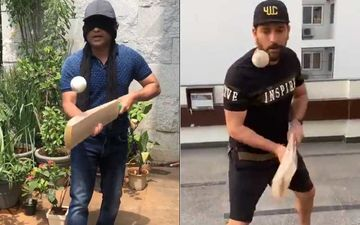 Sachin Tendulkar Accepts Yuvraj Singh's Challenge And Nails It; Challenges Him Back With A Twist-WATCH