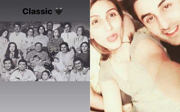 Ranbir Kapoor's Sister Riddhima Kapoor Sahni Shares A 'Classic' Black And White Pic Of The Kapoor Family; Sunday Nostalgia Peaks