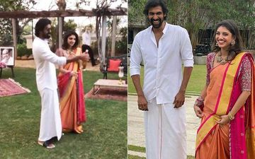 Rana Daggubati Pops A Champagne Bottle After His Roka Ceremony With Miheeka Bajaj; The Couple Is On Cloud 9- WATCH