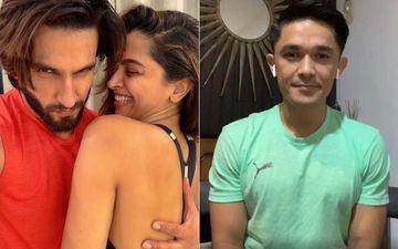 Deepika Padukone Crashes Ranveer Singh's Instagram Live With Sunil Chhetri To Say 'I Love You Baby'