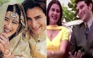 When Amrita Singh Melodiously Sang A Romantic Number For Ex-Husband Saif Ali Khan Leaving Him Smitten-WATCH