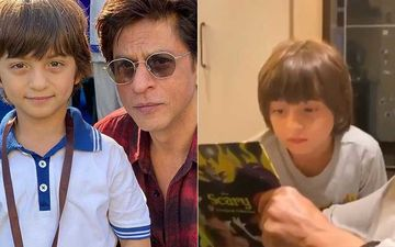 Shah Rukh Khan Blissfully Reads Stories To AbRam Khan; Gauri Khan Gives Fans A Glimpse Of Birthday Celebrations -WATCH