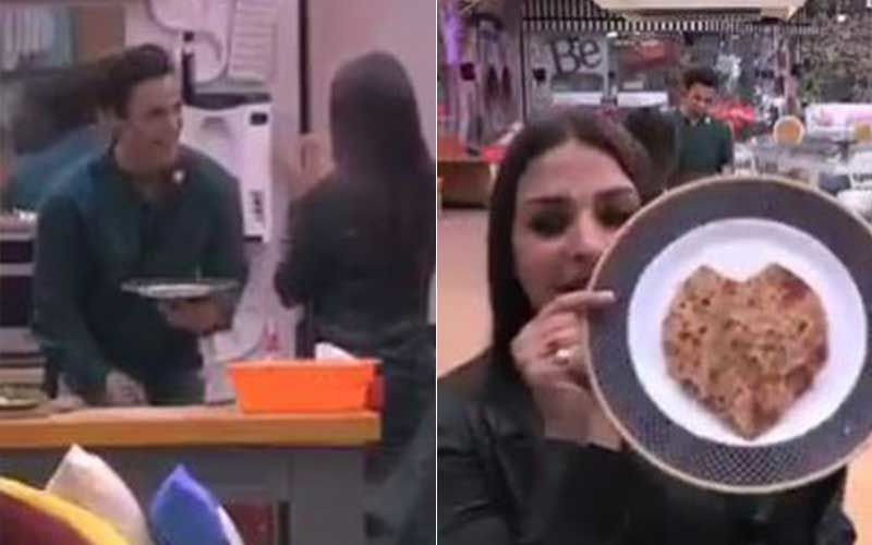 When Asim Riaz Made A Paratha For Ladylove Himanshi Khurana In Bigg Boss 13, Inspired By Prince Narula-WATCH