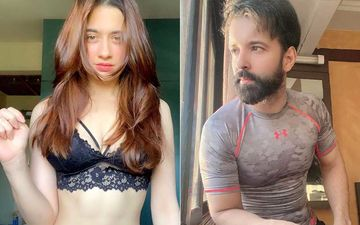 Sanjeeda Shaikh Poses In A Black Bralette Amid Divorce News With Hubby Aamir Ali; Fans Say 'This Girl Is On Fire'