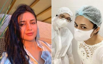 Divyanka Tripathi Flashes Her Pearly Whites In A Mask After Visiting Her Dentist; Calls Fans 'Unlucky'