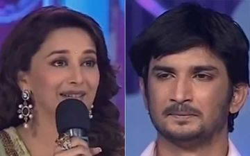 When Madhuri Dixit Consoled A Teary-Eyed Sushant Singh Rajput After His Jhalak Dikhhla Jaa Performance Paying Tribute To His Late Mother
