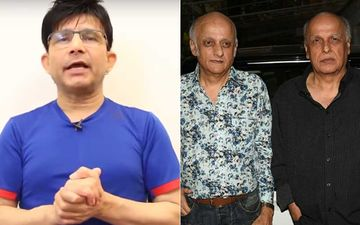 Sushant Singh Rajput Suicide: KRK Hits Out At Mukesh Bhatt-Mahesh Bhatt: Questions Why They Did Not Try To Save Him