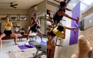 Sara Ali Khan And Brother Ibrahim Ali Khan Are #SiblingGoals As They Workout Together At Home Amid Lockdown –WATCH The Motivating Video