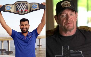 BLOOPER: Mumbai Indians Pay Tribute To The Undertaker On His Retirement; Share A Pic Of Rohit Sharma INSTEAD