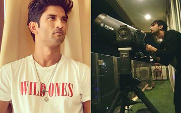 Sushant Singh Rajput's Throwback Video Talking Passionately About Stars And The Process Of Watching Them Will Leave You Overwhelmed- WATCH