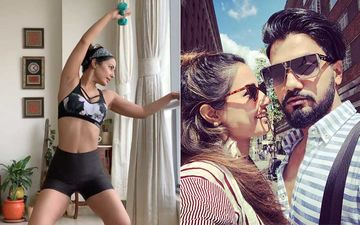 Hina Khan Shares An Inspiring Video As She Performs Barre Pilates At Home; BF Rocky Jaiswal Is Mighty Impressed