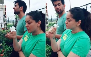 Jay Bhanushali Has The Best Reaction Ever To Wifey Mahhi Vij's Question; Lady Is Curious To Know Which Animal Captures The Prey And Then Kills It Brutally