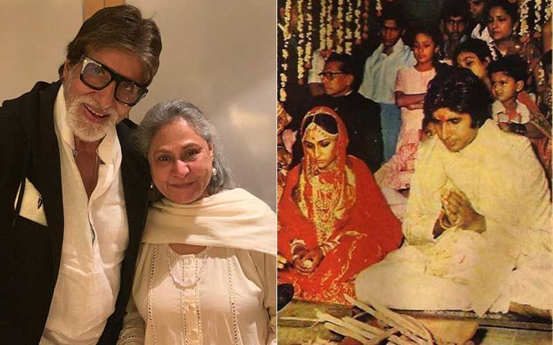UNSEEN Pics From Amitabh Bachchan-Jaya Bachchan's Shaadi; Veteran Actor Shares The Filmy Story Behind His Nuptials On 47th Marriage Anniversary