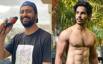 Vicky Kaushal Is Checking On His Buddy Ishaan Khatter From His Balcony; Compliments His Fit Physique But Says 'Bro Kapde Toh Pehen Le'