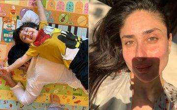 Saif Ali Khan And Son Taimur Ali Khan's Bonding Session Is Adorbs; Kareena Kapoor Shares How Tim Took His Father's 'I Got Your Back' Literally