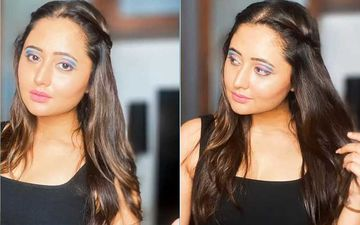 Bigg Boss 13 Fame Rashami Desai Tries Some Funky Eye Shadow Shades In Her Glam Time; Says 'Enjoy Life With No Regrets'