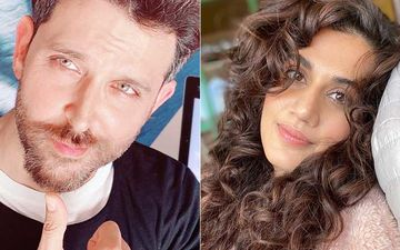 Hrithik Roshan Reacts To Taapsee Pannu And Her Girls Drooling Over Duggu As They Watch Kaho Na Pyar Hai
