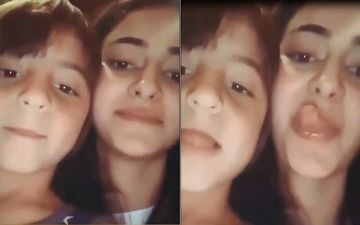 Ananya Panday's Cutesy UNSEEN Video Bonding With Shah Rukh Khan's Son AbRam Khan Is Too Cute For Words; WATCH
