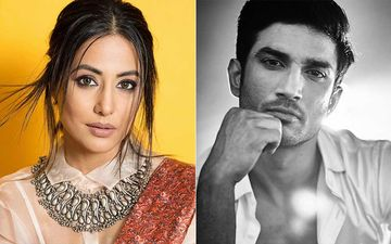 Hina Khan Says Late Sushant Singh Rajput Will Always Be A Star; Remembers Him On One Month Death Anniversary