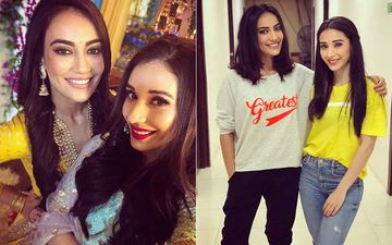 Naagin Fame Surbhi Jyoti And Actress Heli Daruwala Are #FriendshipGoals; Pics Of The BFFs Prove They Are Inseparable