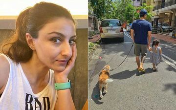 Soha Ali Khan Shares An Adorable Pic Of Kunal Kemmu And Their Daughter Inaaya; It's 'Sunday Strolling' Day For The Family