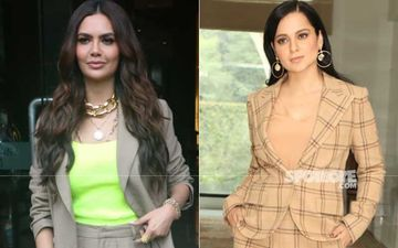 Esha Gupta Pledges Support To Kangana Ranaut Via Cryptic Tweet; Says People Often Brand Strong Women, 'Bossy And Difficult'