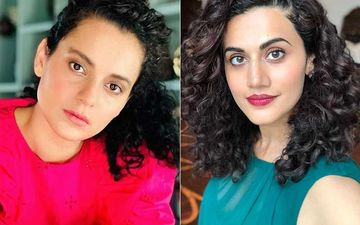 Kangana Ranaut's Team Claims Taapsee Called Herself 'B-Grade' In Interviews, Slams Her For Trying To 'Sabotage Justice The Nation Wants For Sushant'
