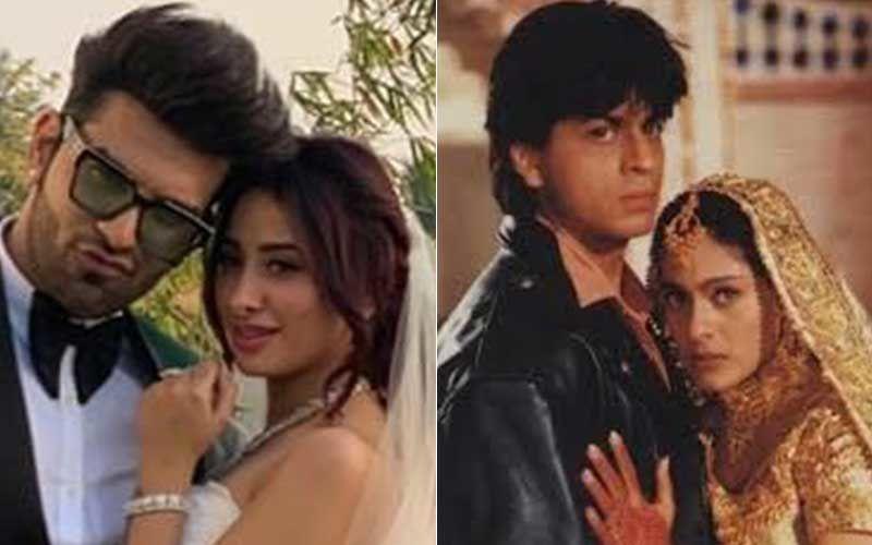 Bigg Boss 13's Paras Chhabra-Mahira Sharma Fan Compares Them To Shah Rukh Khan-Kajol From DDLJ; Pic INSIDE