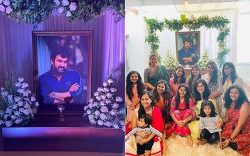 Chiranjeev Sarja's Prayer Meet: Wife Meghana Says 'Chiru Is A CELEBRATION'; Shares Smiling Pics Of Family As They Cherish Memories Of The Late Actor