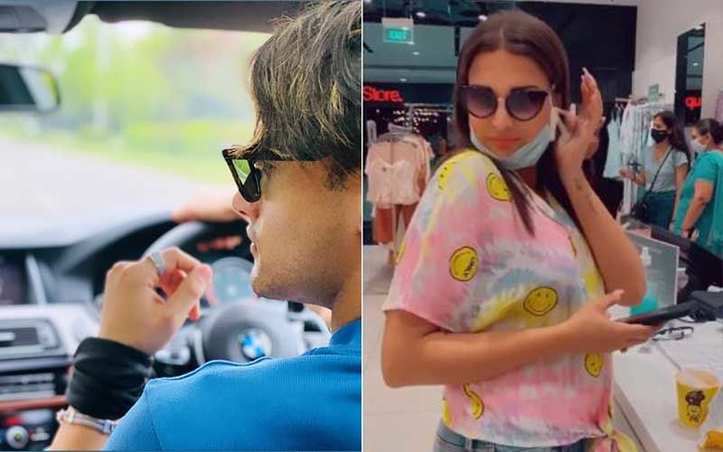 While Asim Riaz Is Out Car Shopping, Ladylove Himanshi Khurana Is Busy Pampering Herself In A Mall-WATCH