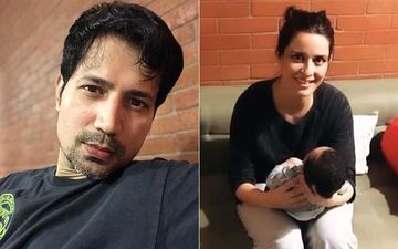 Sumeet Vyas Shares A Cute Video Of Baby Momma Ekta Kaul Making Weird Sounds To Help Son Ved To Sleep; Calls It 'Rustic Parenting'
