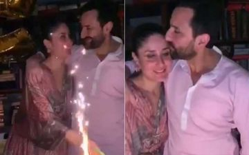 Saif Ali Khan Birthday: Kareena Kapoor Khan Wishes The Sparkle Of Her Life; Her Baby Bump Is Too Hard To Miss-WATCH Video